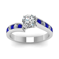 round-cut-diamond-engagement-ring-with-blue-sapphire-in-14K-white-gold-FDENR1115RORGSABLANGLE5-NL-WG