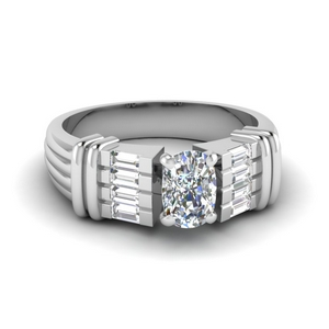 Cushion Diamond Vintage Ring