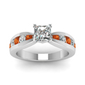 princess-cut-diamond-engagement-ring-with-orange-sapphire-in-14K-white-gold-FDENR2224PRRGSAORANGLE5-NL-WG