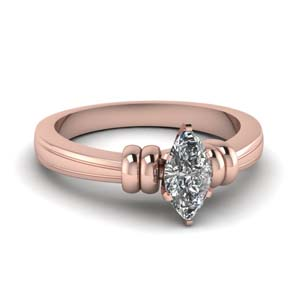 Simple Solitaire Engagement Ring