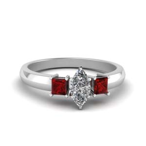 Beutiful Platinum Engagement Ring