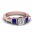 princess-cut-diamond-engagement-ring-with-blue-sapphire-in-14K-rose-gold-FDENR2751PRRGSABL-NL-RG