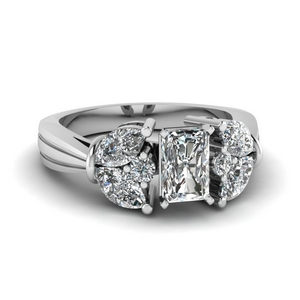 Radiant Cut Vintage Engagement Rings