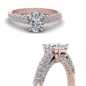 1.60 Ct. Pave Diamond Ring