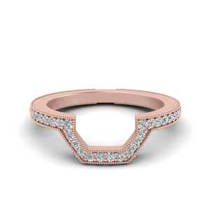 Contour Vintage Diamond Band