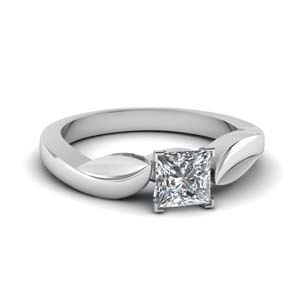 Beautiful Princess Cut Ring For Woman