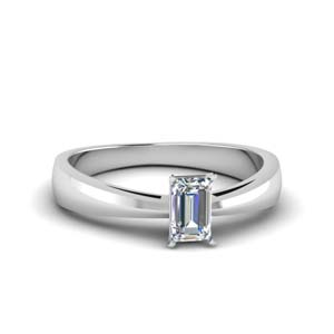 Diamond Solitaire Ring 0.50 Ct.