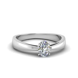 Half Carat Solitaire Ring