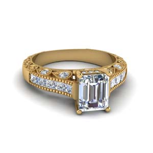 14K Yellow Gold 2 Ct. Diamond Ring