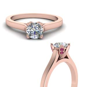 Delicate Pink Sapphire Ring