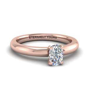 Classic Cushion Diamond Ring