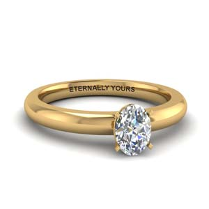 Classic Round Shaped Solitaire Ring