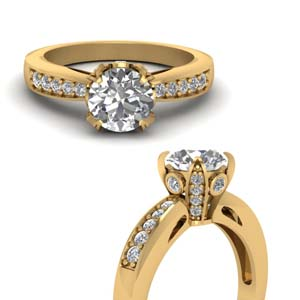 Pave Wrap Diamond Ring