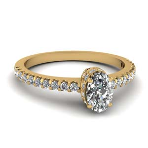 0.75 Ct. Diamond Crown Thin Ring