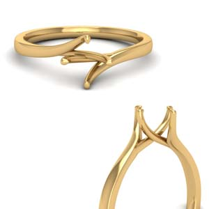 Semi Mount Solitaire Ring