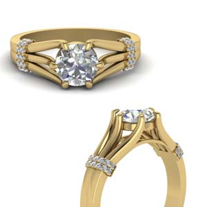 Half Carat Engagement Rings