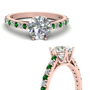 Emerald Crown Diamond Ring