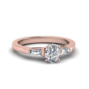 3 Stone Baguette Ring
