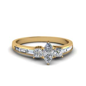 Delicate Marquise Shaped Ring