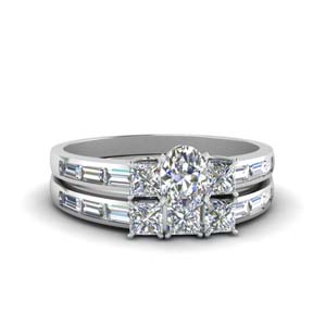 Channel Baguette Diamond Set