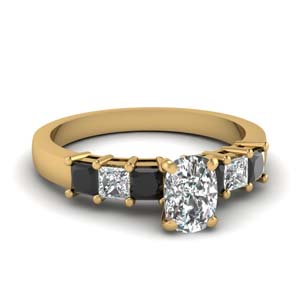 1.50 Ct. Cushion Cut Diamond Ring