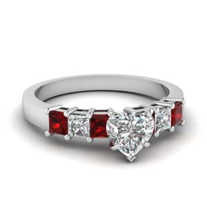 7 Stone Engagement Ring
