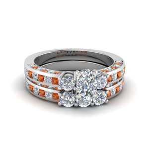 Cushion Diamond Ring With Band