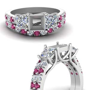 Accented Wedding Ring Setting