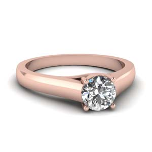 18K Rose Gold Cathedral Ring
