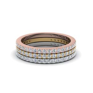 Anniversary Stackable Diamond Band