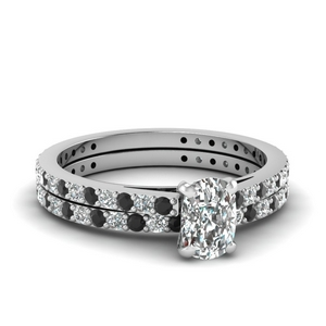 Classic Delicate Diamond Wedding Set