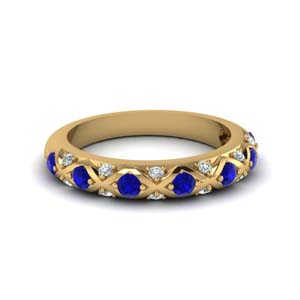 Sapphire Custom Wedding Band