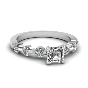 Lab Grown Bar Diamond Petite Ring