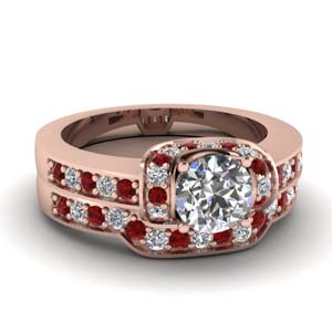 Beautiful Pave Bridal Ring Set