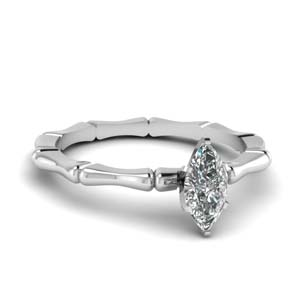 Petite One Carat Bone Ring