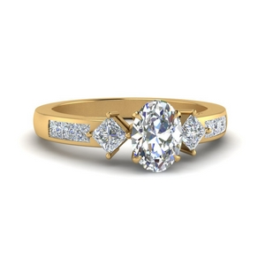 Accent Lab Created Diamond Ring