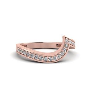 Perfect Match (Swirl Pave Diamond Band)