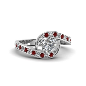 Petite Pave Engagement Ring