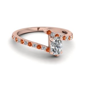Cushion Cut Petite Engagement Rings