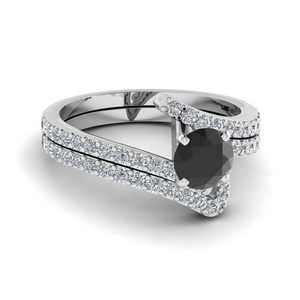 Platinum Bridal Ring Set