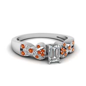 Intertwined Engagement Ring