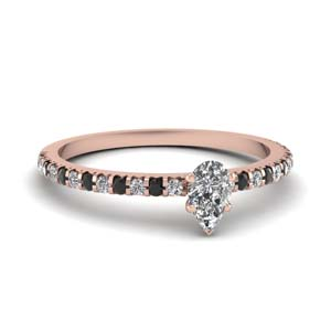 Black Diamond Rings For Women