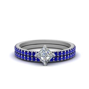 kite-princess-cut-sapphire-wedding-ring-set-in-FDENS3009PRGSABL-NL-WG-GS