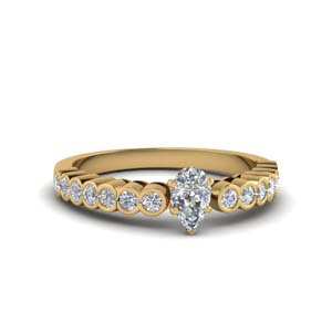 Pear Shaped Petite Engagement Rings