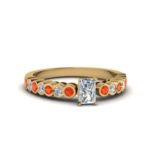 Radiant Cut Diamond Gold Ring