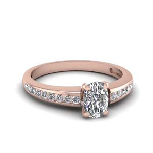 Channel Set 0.90 Carat Diamond Ring