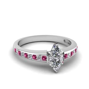 Petite Pink Sapphire Ring