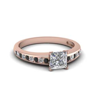 Princess Cut Delicate Ring
