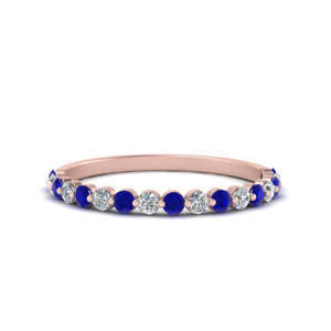 Common Prong Thin Round Band For Her