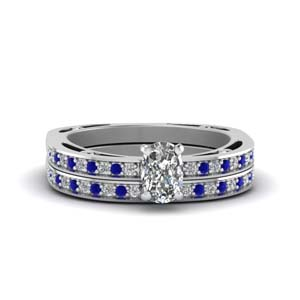 Petite Bridal Ring Set